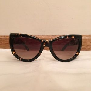 Valentino oversized sunglasses.
